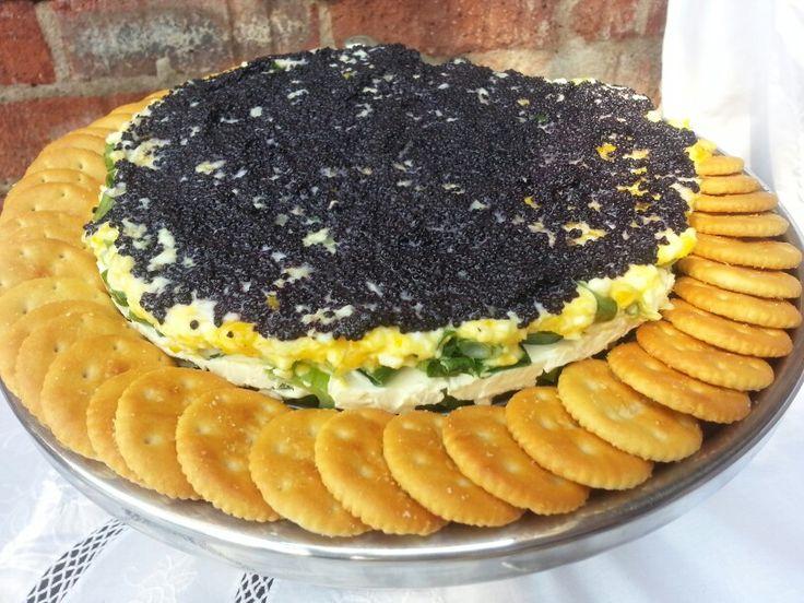 Caviar Tart