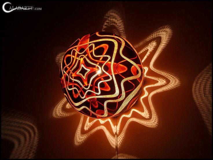 Необычные лампы из африканских тыкв / Mesmerizing Gourd Lamps by Calabarte http://www.lustra-gus.ru/blog/neobychnye-lampy-iz-afrikanskix-tykv/