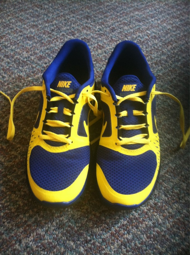 Blue & Gold shoes from Kelly Schneider: Running Shoes, Blue Gold, Sigma Gammarho, My Daughters, Daughters Kelly, Image, Care Community, Gold Sgrho, Gold Shoes