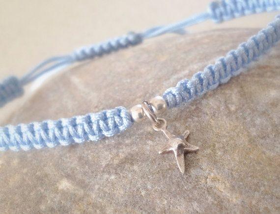 Delicate  sterling silver mini star fish by keepcalmandbeadon, £5.00