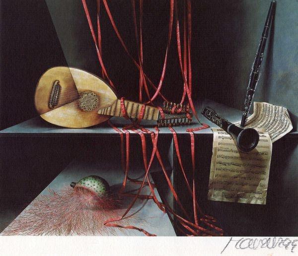 [David Manzur, pintor colombiano] ConsumoSentido