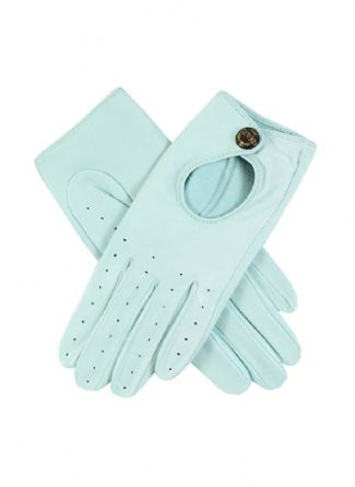 Tiffany blue driving gloves