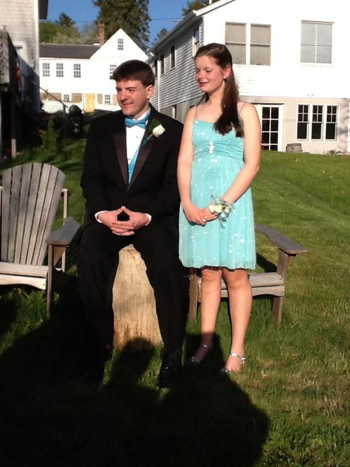 My Grandaughter jessica and her prom date.