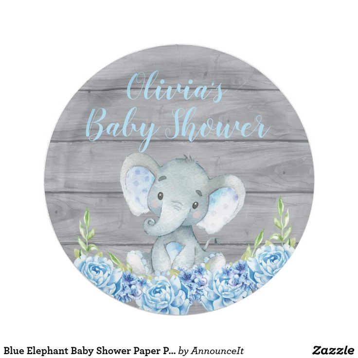 68 Best Elephant Baby Shower Images On Pinterest Baby