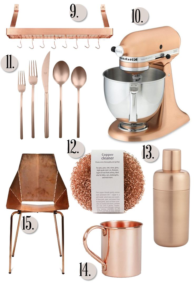Copper In The Kitchen Will Replace Our Love Of Gold Decorate Pinterest Kitchens And
