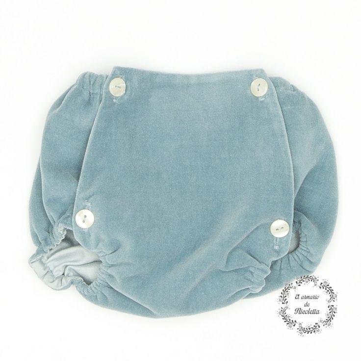 Culotte elaborado en terciopelo de algodón, de la firma Casilda y Jimena.