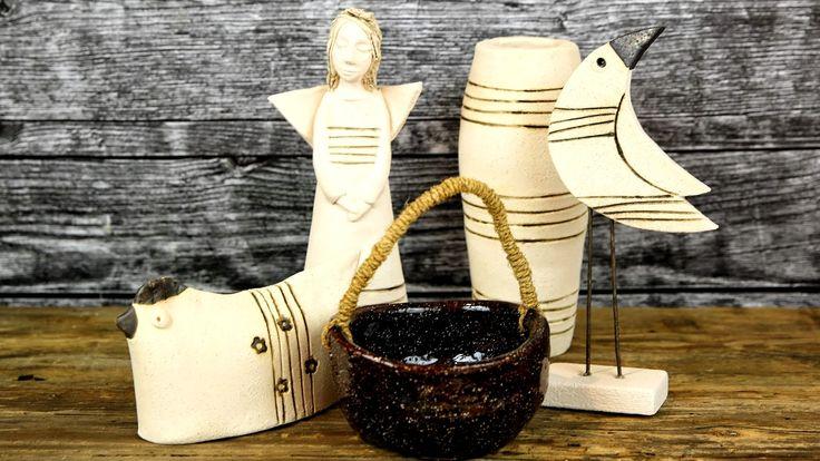 Ceramika ozdobna, upominki, wystrój wnętrz