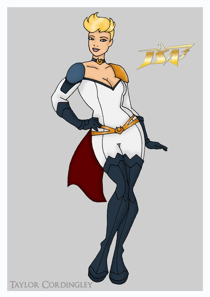 Power girl justice league