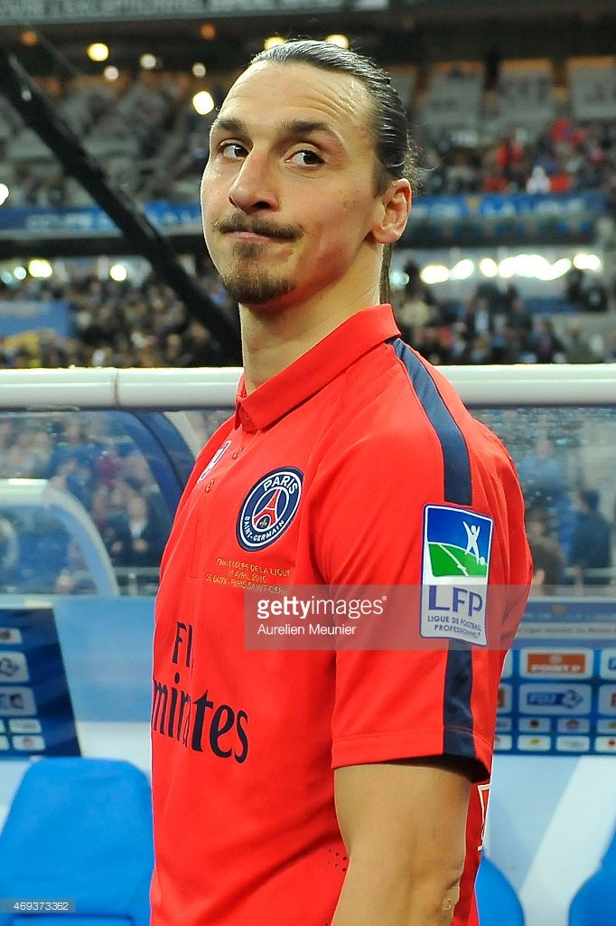 Zlatan Ibrahimovic of PSG reacts after their 40 victory after the... Fotografia de notícias | Getty Images
