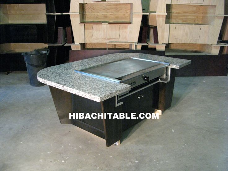 Hibachi grills for the home gallery hibachi table for Outdoor kitchen bbq for sale