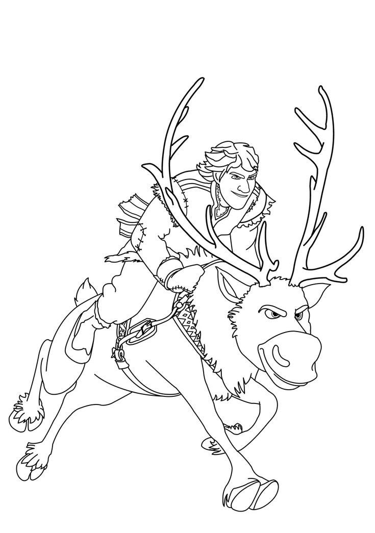 coloring-frozen-kristoff-sven.jpg (2372×3371)