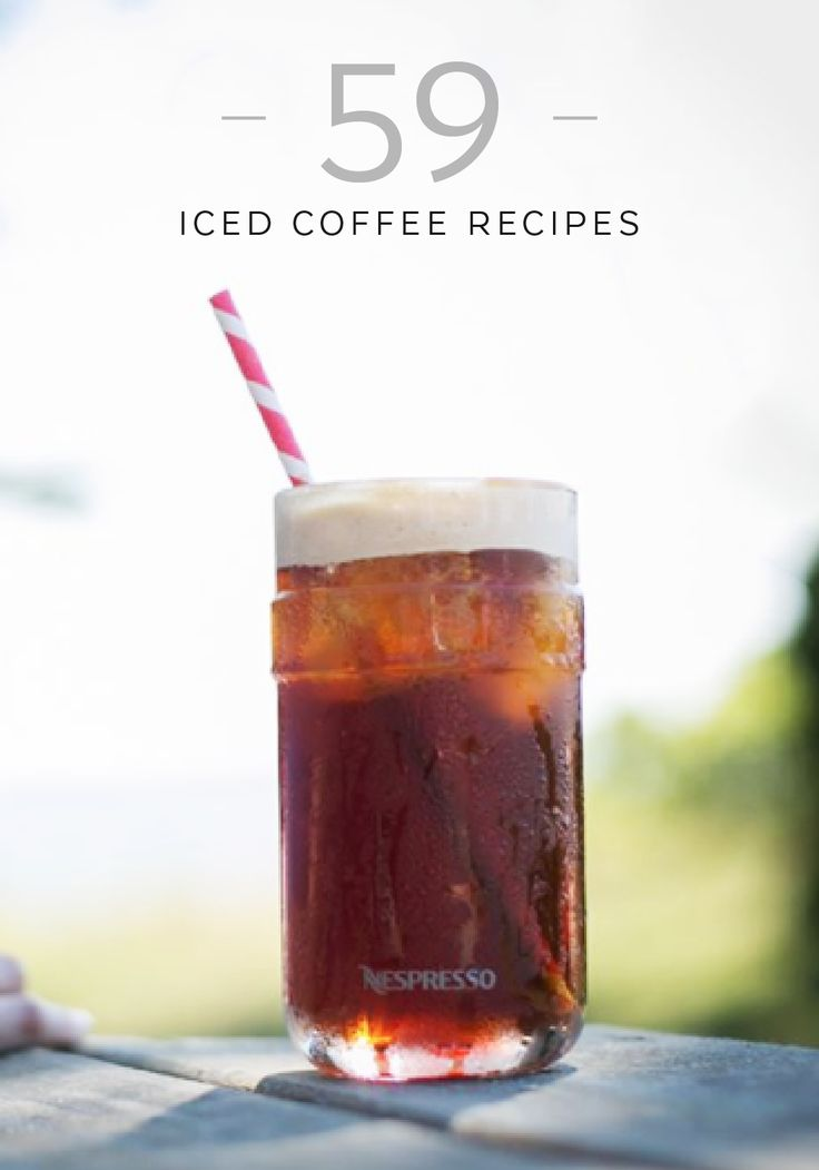 310 best images about Iced Coffee Creations on Pinterest  -> Nespresso Iced Coffee
