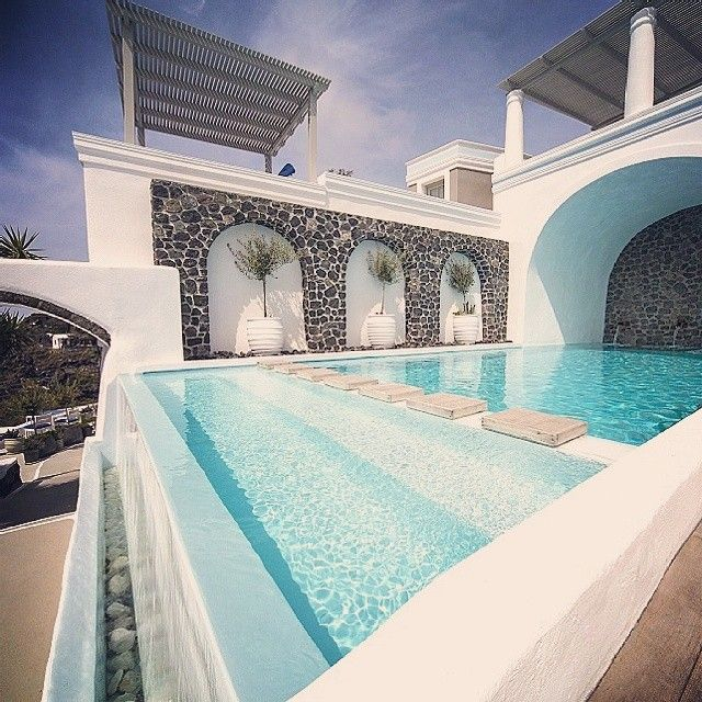 Our stunning pool area...