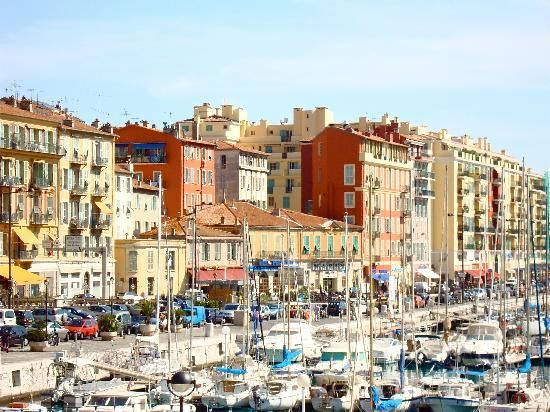 The Port of Nice, France   Was here for the Cannes Film Festival