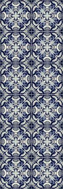Endpaper pattern for Fish Index publication (Jan 2013) © Charlotte Vogel