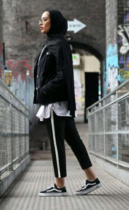 26 New Ideas for sneakers outfit summer black