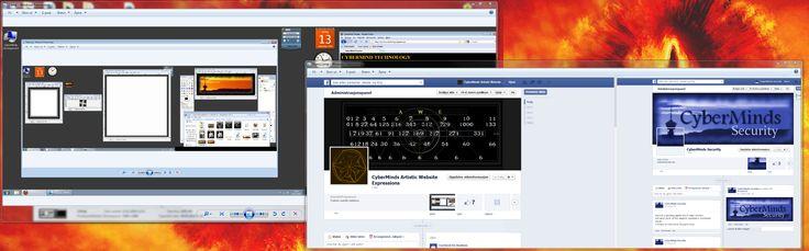 Den viser et skjermbilde fra 2010 samt et ifra 2014, dokumenterer utviklingen