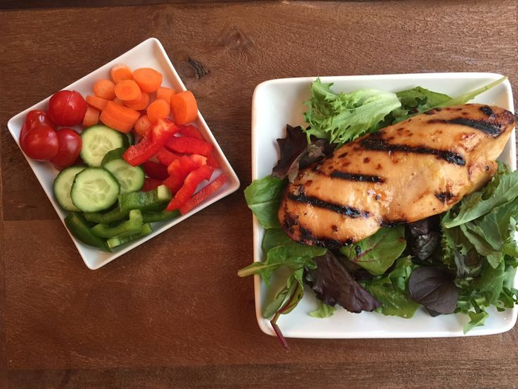Perfectly Grilled Chicken Breasts @katieserbinski