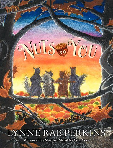 Nuts to You by Lynne Rae Perkins http://www.amazon.com/dp/0060092750/ref=cm_sw_r_pi_dp_baMaub0T1AT37