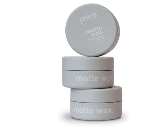 FINISH Matte Wax Organic ginseng extract. Previa Haircare – Made in Italy | Finish and style.