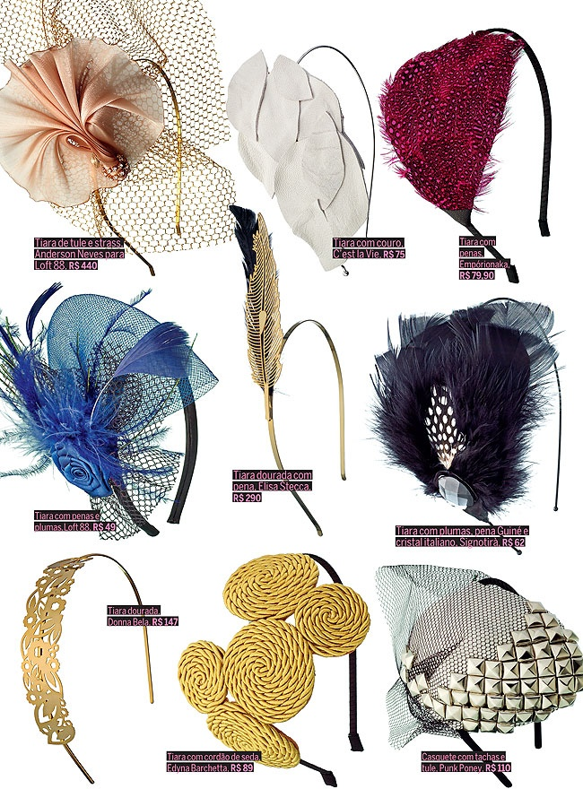 Gatsby Fascinators - head accessories