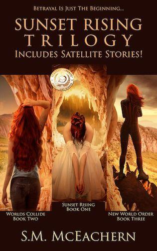 Book-o-Craze: Book Blitz {Excerpt & Giveaway} -- Sunset Rising Trilogy by S.M. McEachern
