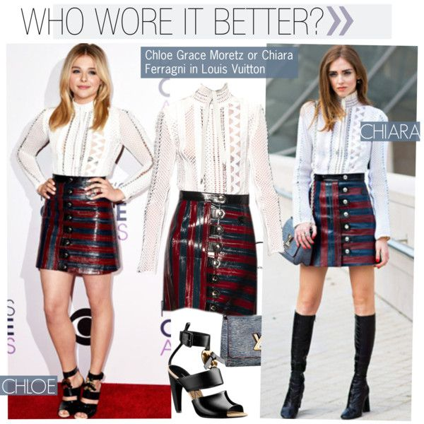 Who Wore It Better?Chloe Grace Moretz Or Chiara Ferragni