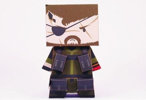 The Legendary Soldier - Big Boss Free Paper Toy Download - http://www.papercraftsquare.com/the-legendary-soldier-big-boss-free-paper-toy-download.html#BigBoss, #MetalGear
