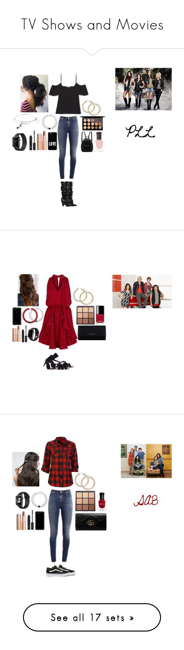 """""""TV Shows and Movies"""" by mermaid-princess-loves-music ❤ liked on Polyvore featuring Supra, MAC Cosmetics, Charlotte Tilbury, Givenchy, Yves Saint Laurent, Alex and Ani, Lokai, STELLA McCARTNEY, Deborah Lippmann and PrettyLittleLiars"""