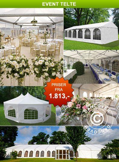 Event telte - Event telte til alle formål. Online salg af event telte.