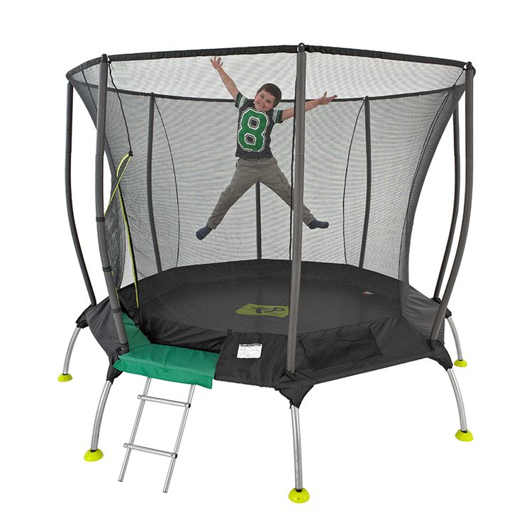 TP 8ft Genius Octagonal 2 Surroundsafe Trampoline - Dobbies Garden Centres