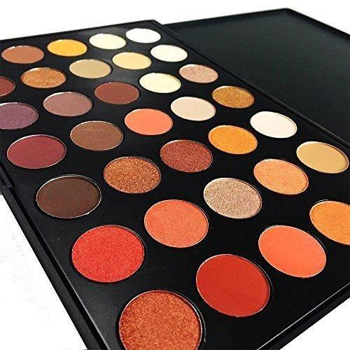DE'LANCI Professional 35 Color Eyeshadow Makeup Palette Waterproof Eyeshadow Makeup Kit Set (35 Color)