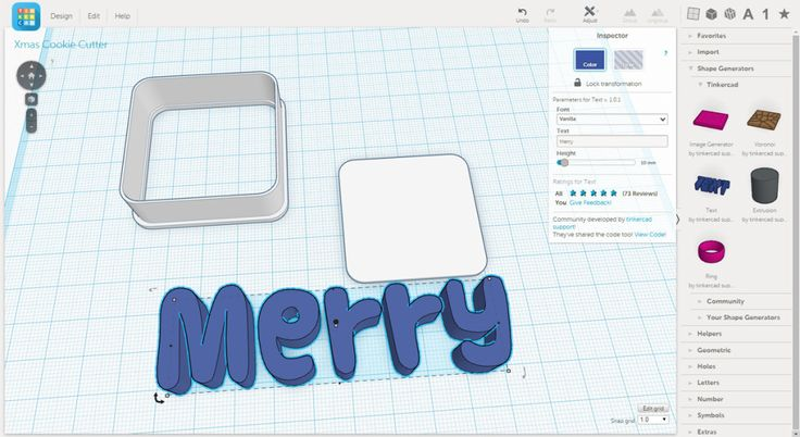 how to use a 3d printer to make cookie cutters