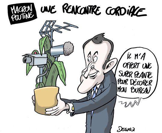 (272) #Macron - Recherche sur Twitter 26 mai 2017 rencontre avec Poutine à Versailles