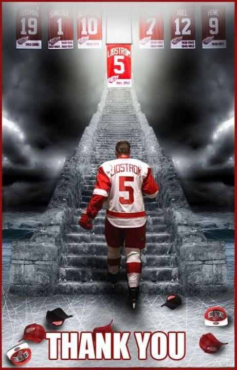 Nick Lidstrom, one of the Detroit Red Wing immortals.