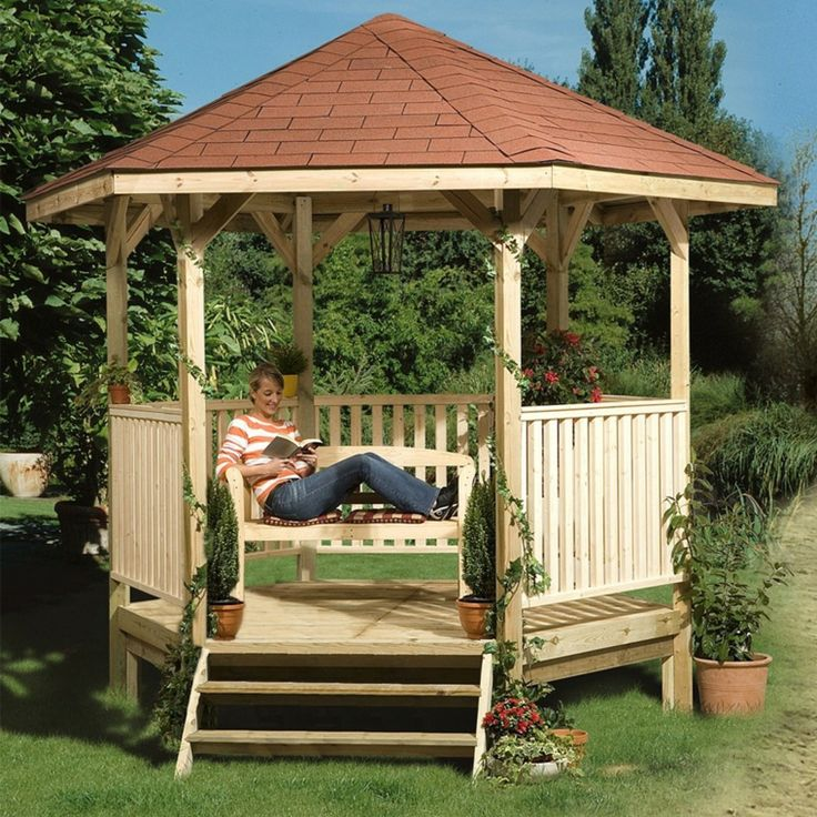 Pergolas en madera para la decoraci n moderna de la casa for Casas de madera para patios