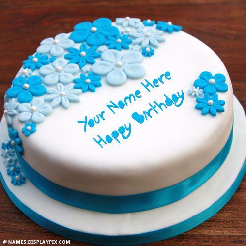 Incredible Happy Birthday Cake With Name Happy Birthday Cake Pictures Personalised Birthday Cards Veneteletsinfo