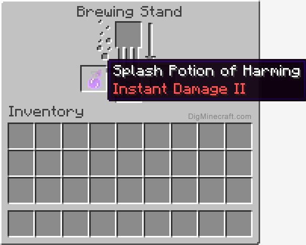minecraft how to make potion of strength