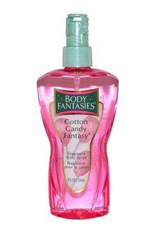 Body Fantasies Body Spray for Women, Cotton Candy Fantasy Fragrance, 8 Ounce - List price: $12.98 Price: $7.55 + Free Shipping