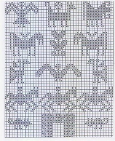 Andean Knitting charts + The Andean Tunics (Met.Museum) - Monika Romanoff - Álbumes web de Picasa