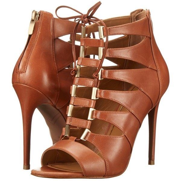 Enzo Angiolini Nehan Women's Shoes, Brown ($85) ❤ liked on Polyvore