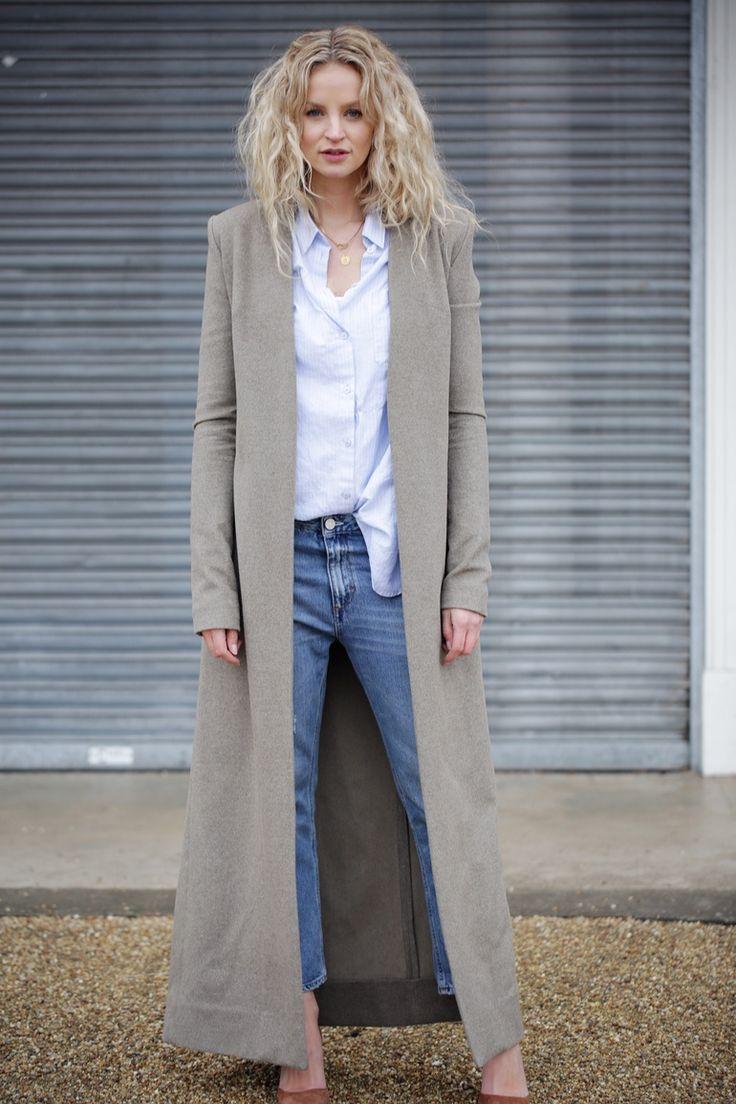 Long coat style dresses