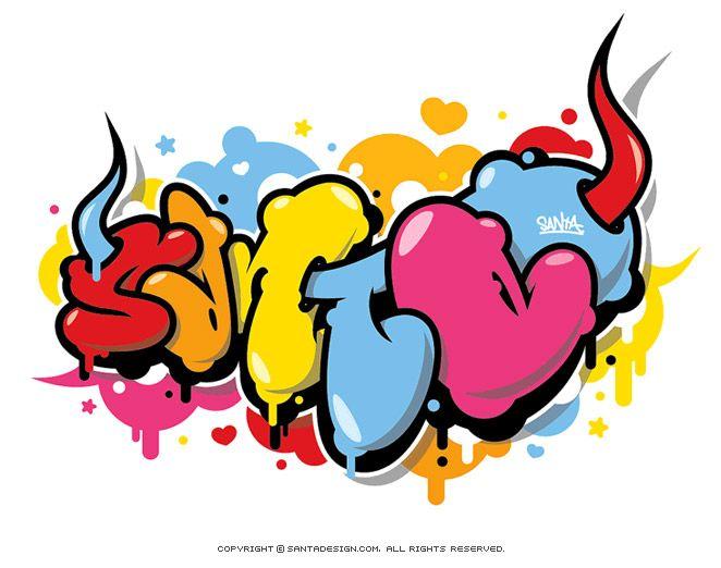 #Graffiti #SANTA / 2008