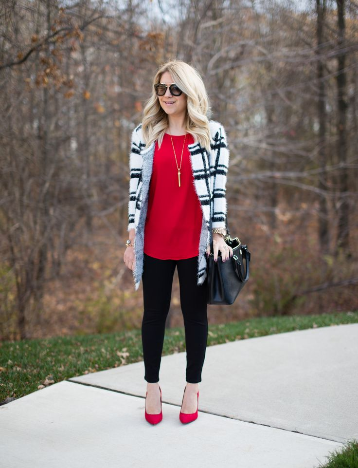 This fuzzy eyelash sweater is so chic, and it is under $20!  Click through for more details!