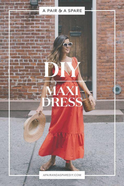 DIY Maxi Dress 8