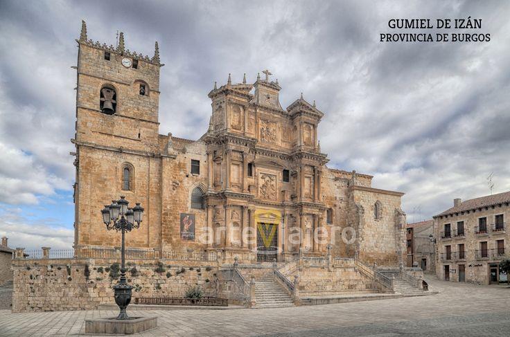 Iglesia de Santa María, Gumiel de Izán. Provincia de Burgos