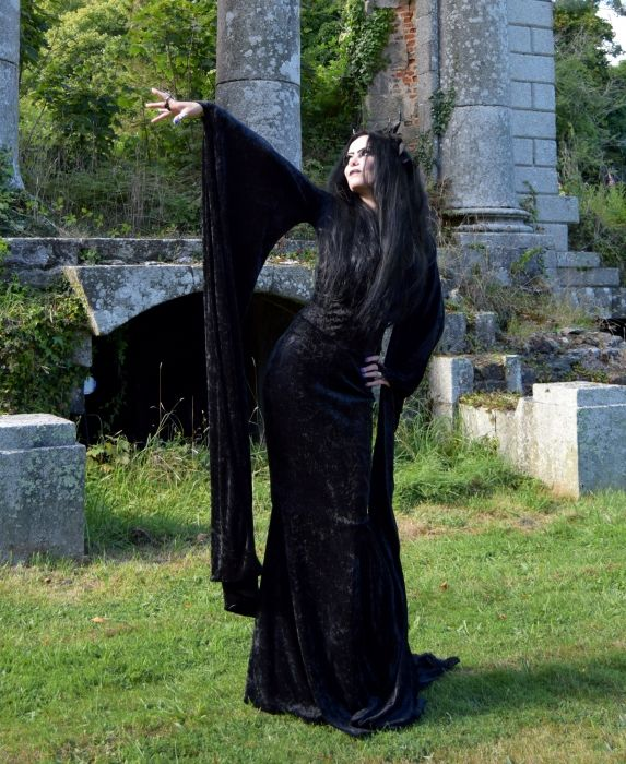 MaliceIficent Gown by Moonmaiden Gothic Clothing