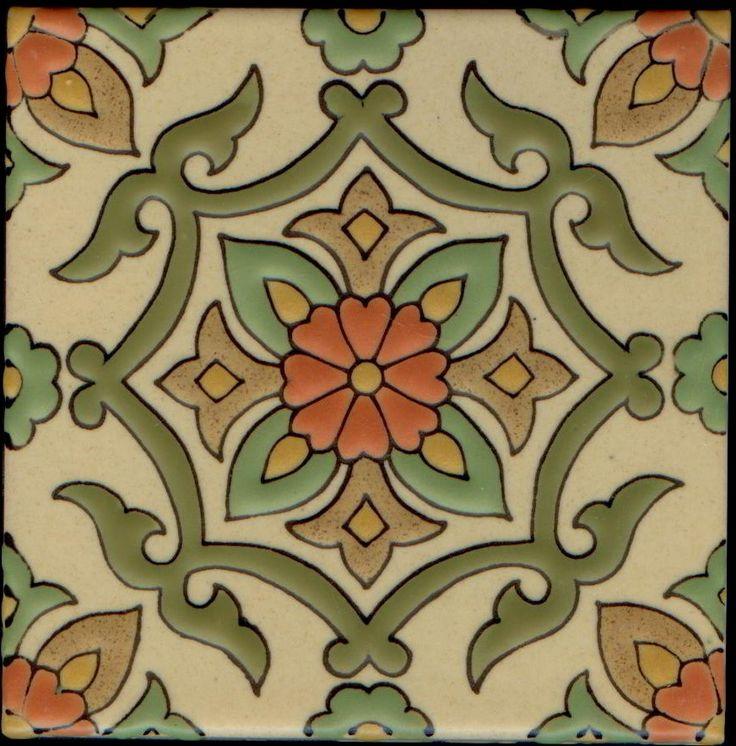 spanish decorative tile