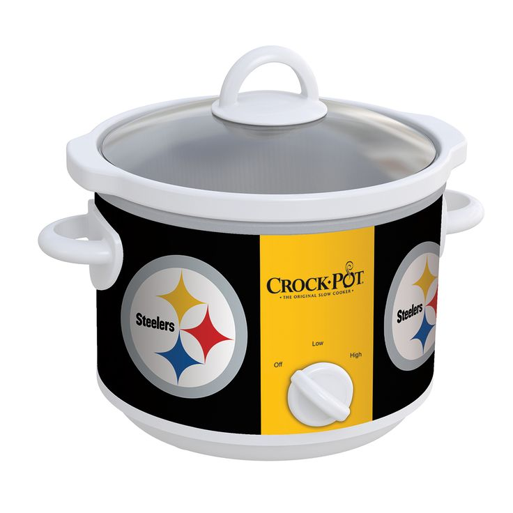 <p>Now, exclusively from the Crock-Pot® Brand, buy a slow cooker with your favorite NFL team's logo. Choose from all 32 teams and score big at your game time event.</p>