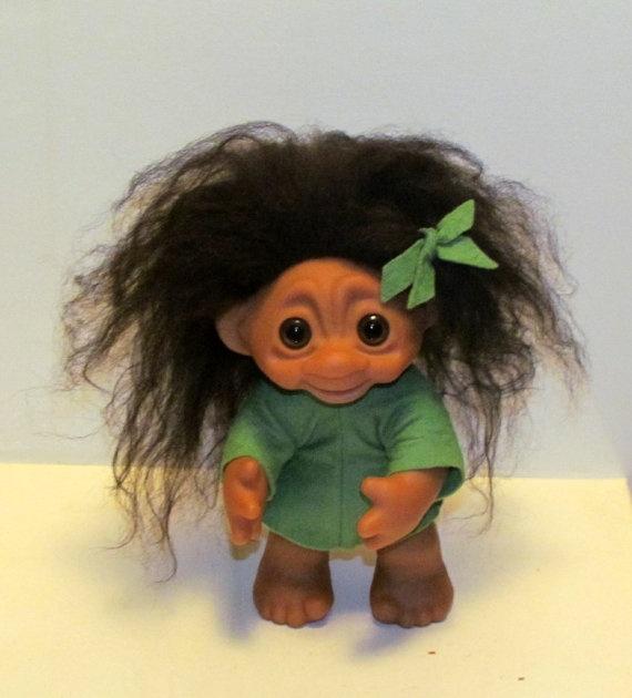1977 Original Thomas Dam Troll Doll